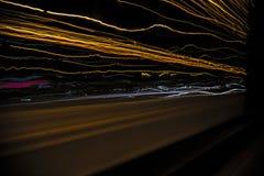 Lumières de route Images libres de droits