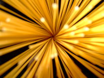 Lumières de Spagetti Photographie stock