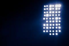 Lumières de stade Photographie stock