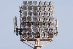 Lumières de stade Photos stock