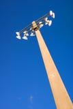 Lumières de stade Photo stock