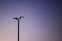 Lumières de stade Images libres de droits
