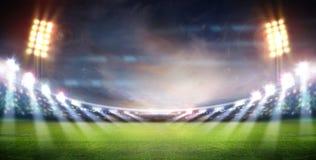 Lumières de stade Photos libres de droits
