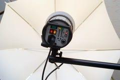 Lumières de studio Photo libre de droits