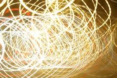 Lumières de Swirly photos stock