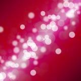 Lumières de tache floue de Noël Photographie stock libre de droits