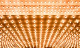 Lumières de théâtre Photos stock