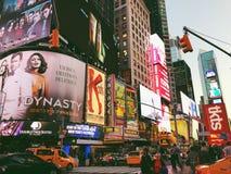 Lumières de Times Square photo libre de droits