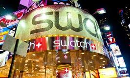 Lumières de Times Square Photographie stock libre de droits