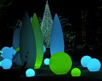 Lumières de vacances Photo stock