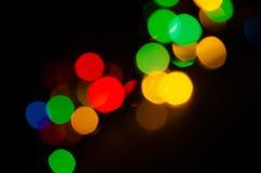 Lumières de vacances Photos stock