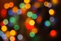 Lumières de vacances Photographie stock libre de droits