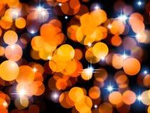 lumières de vacances de fond Photos libres de droits