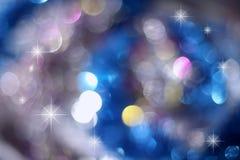 lumières de vacances de fond Photo stock