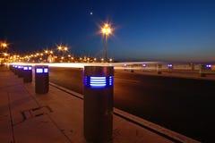 Lumières de ville Image libre de droits