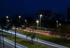 Lumières de ville photo libre de droits