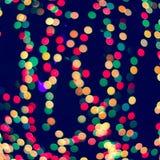 Lumières de ville de Blured photos stock