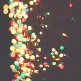 Lumières de ville de Blured images libres de droits