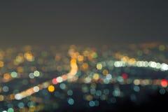 lumières defocused de bokeh Images stock