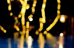 lumières defocused de bokeh Image libre de droits