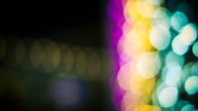Lumières Defocused de bokeh d'abrégé sur fond de lumières Photographie stock libre de droits