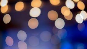 Lumières Defocused de bokeh d'abrégé sur fond de lumières photo libre de droits