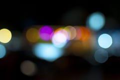 Lumières defocused multicolores Photographie stock libre de droits
