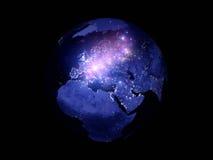 Lumières du monde Photos libres de droits