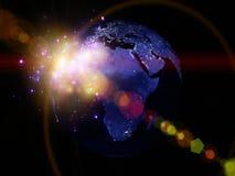 Lumières du monde Images stock