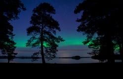 Lumières du nord Aurora Borealis Image stock