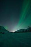 Lumières du nord/aurora borealis Photo stock