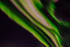 Lumières du nord dans le ciel nocturne Photographie stock libre de droits