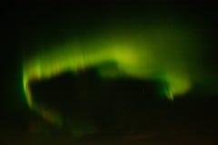 Lumières du nord dans le ciel nocturne Photo libre de droits