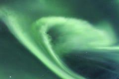 Lumières du nord en Islande Images libres de droits