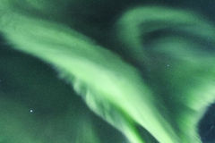 Lumières du nord en Islande Photo libre de droits