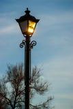 Lumières en stationnement Image libre de droits