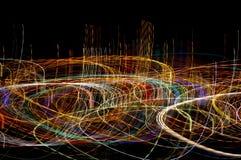 lumières extrêmes photographie stock