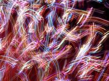 Lumières folles Image libre de droits