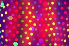 Lumières la nuit images stock