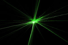 Lumières lasers Images libres de droits