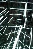 Lumières, lignes et miroirs Image libre de droits