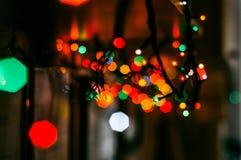 Lumières lumineuses Photographie stock