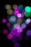 Lumières magiques. Photo libre de droits