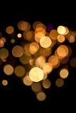 Lumières magiques. Images libres de droits