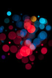 Lumières magiques. Photographie stock libre de droits