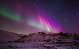 Lumières nordiques images stock