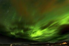 Lumières nordiques Images libres de droits