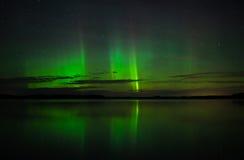 Lumières nordiques Photo stock