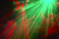 Lumières psychédéliques de couleur Photographie stock libre de droits
