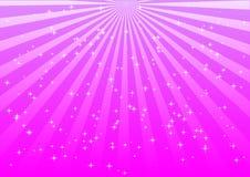 Lumières roses Images libres de droits